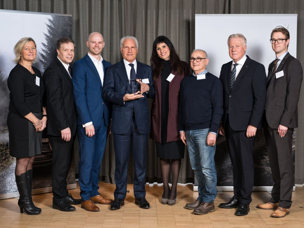 25.1.2017 MECFOND ERHäLT VOLVO CARS QUALITY EXCELLENCE AWARD